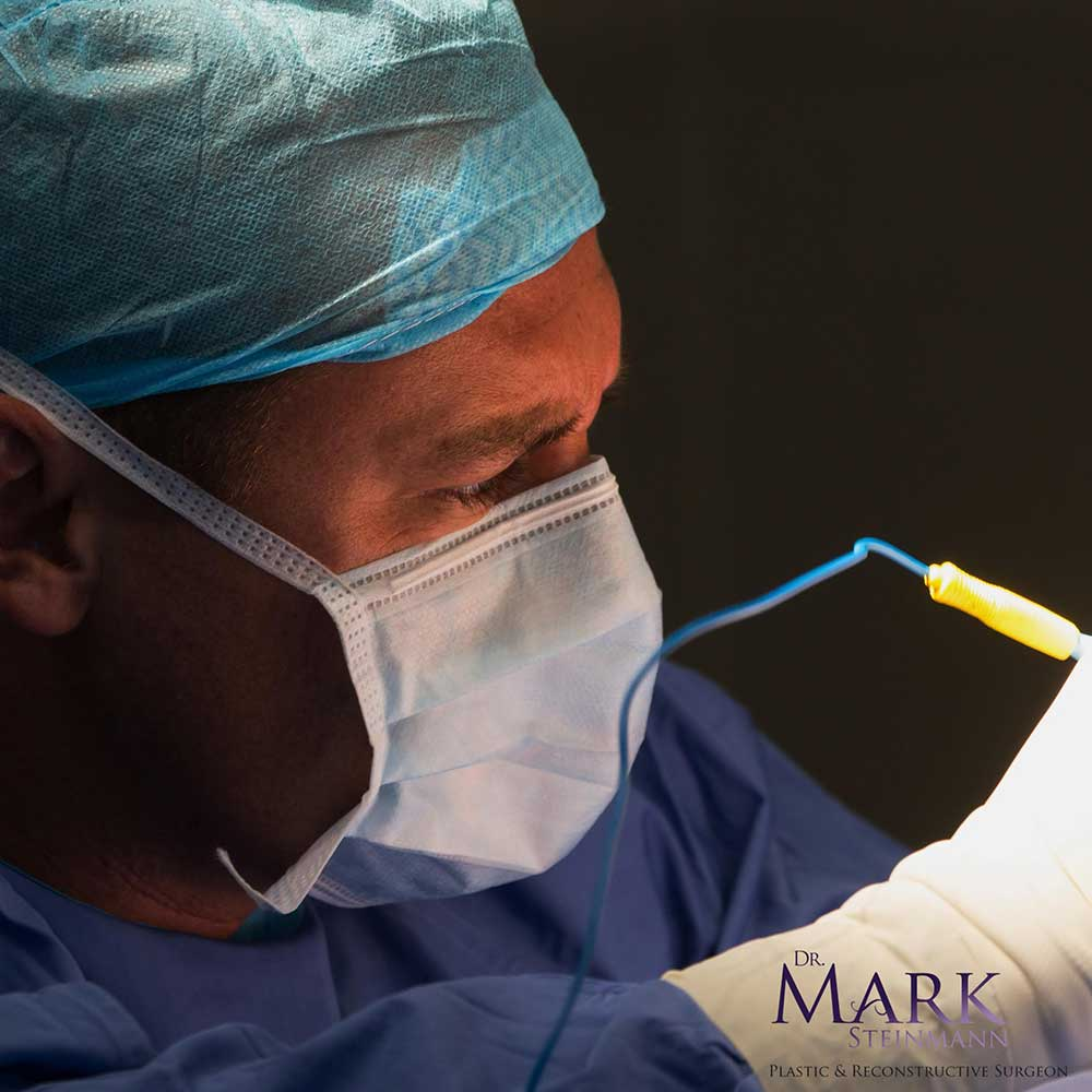 Dr. Mark, board certified plastic surgeon